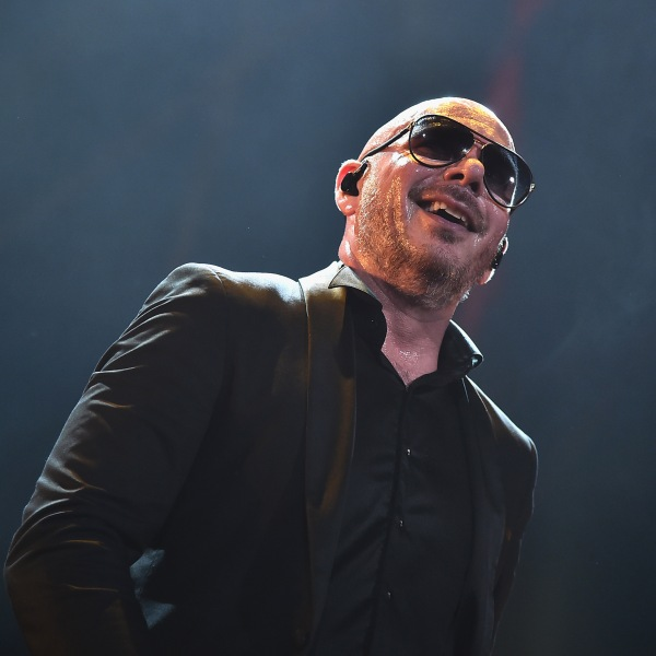 Pitbull performs onstage at iHeartRadio Fiesta Latina at AmericanAirlines Arena on Nov. 3, 2018 in Miami, Florida. (Credit: Theo Wargo/Getty Images for iHeartRadio)