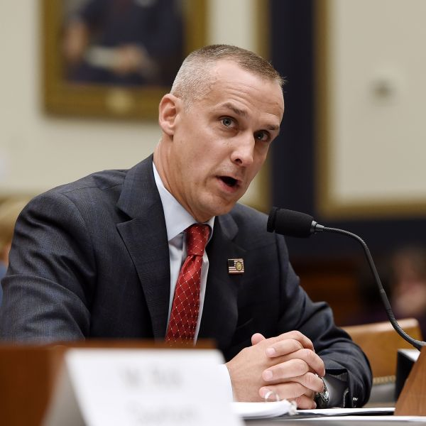 President Donald Trump's former campaign manager, Corey Lewandowski, testifies before the House Judiciary Committee as part of a congressional investigation of the Trump presidency on Sept. 17, 2019 in Washington, D.C. (Credit: OLIVIER DOULIERY/AFP/Getty Images)