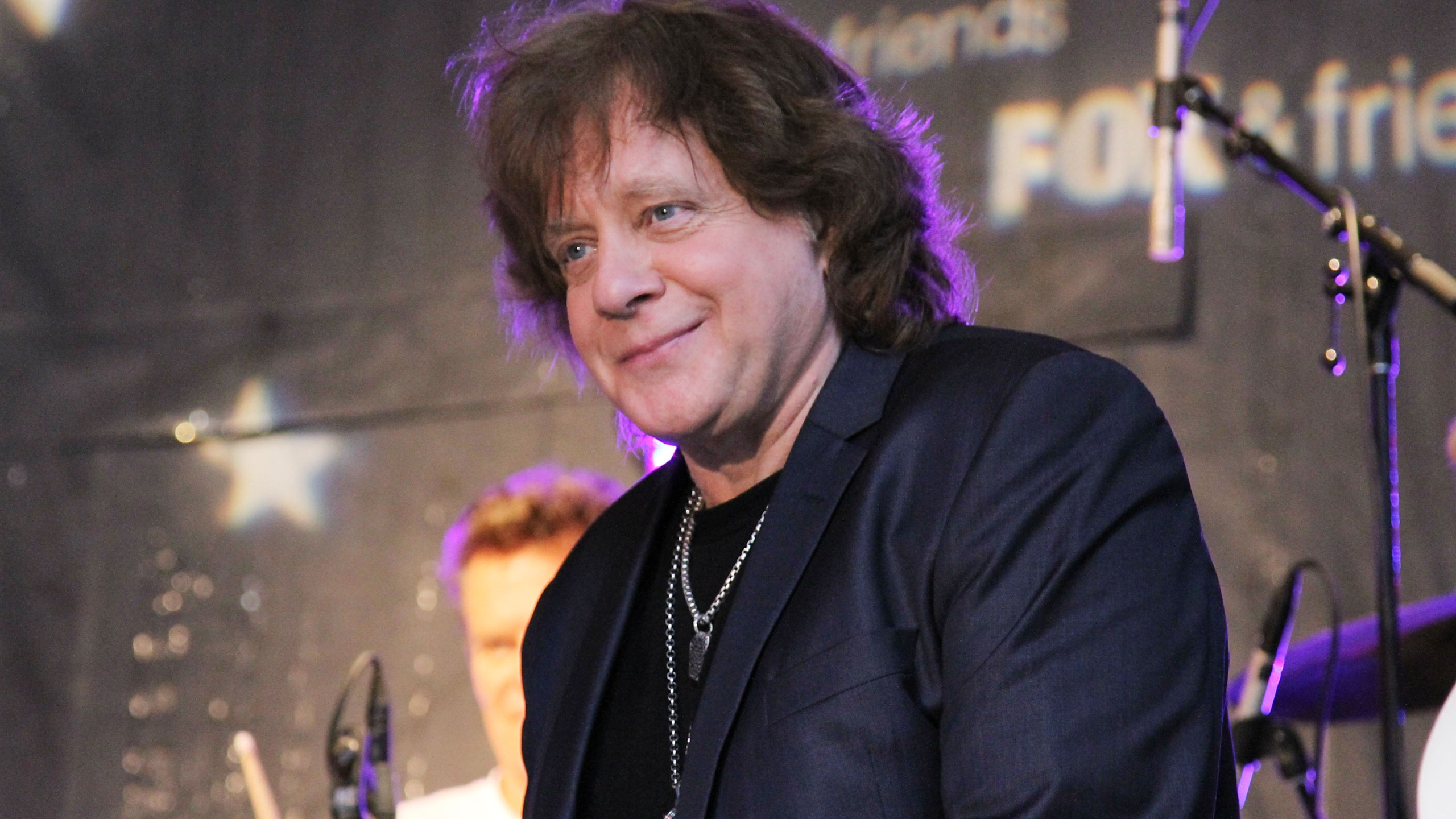 """Eddie Money performs during """"FOX & Friends"""" All American Concert Series outside of FOX Studios on June 7, 2013 in New York City. (Credit: Rob Kim/Getty Images)"""