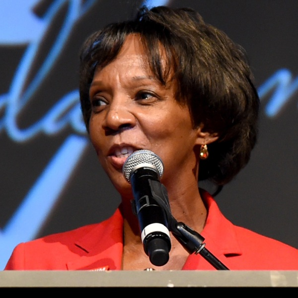 District Attorney of Los Angeles County Jackie Lacey speaks on April 29, 2015, in Los Angeles. (Credit: Jason Merritt/Getty Images for GUESS)