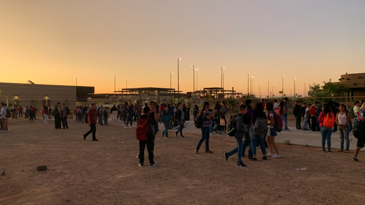 Students Born in the U.S. But Living in Mexico Cross the Border Each Morning to Attend School in New Mexico