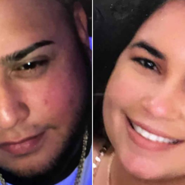 The boy's father, Miguel Anthony Valentin-Colon, 31 and his mother, Nicole Merced Plaud, 24, are missing along with a friend. (Credit: Buffalo Police Dept.)