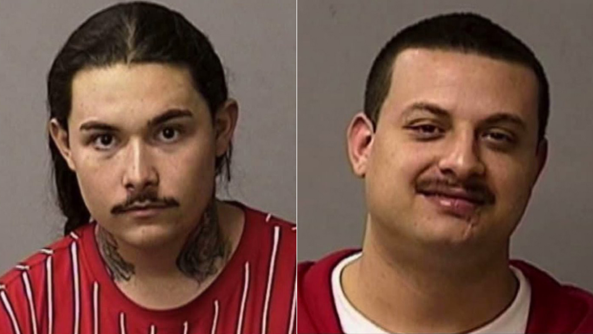 Matthew Arguello, left, and Ruben Rosales, right, are seen in photos obtained by KTXL.
