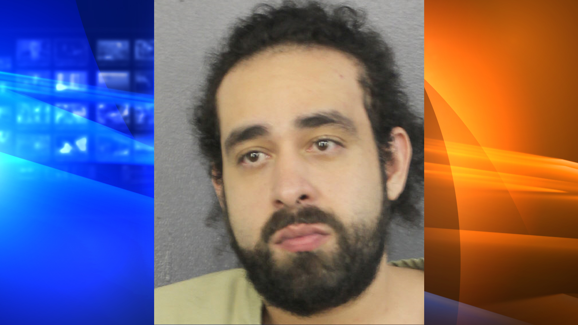 Albert Narvaez is seen in a booking photo released by the Broward County Sheriff's Office.