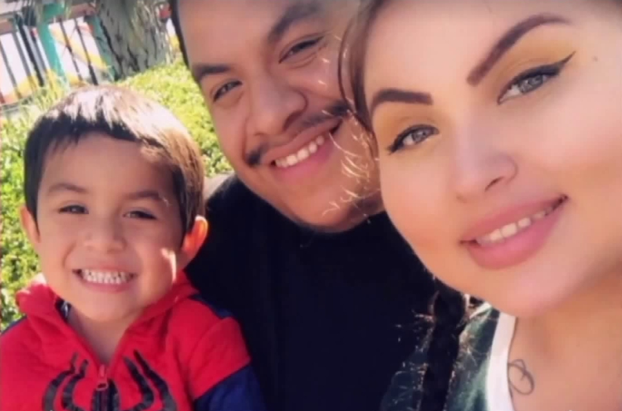 Noah Cuatro is seen with his parents, Jose Cuatro and Ursula Juarez, in an undated photo from Juarez's Facebook page.
