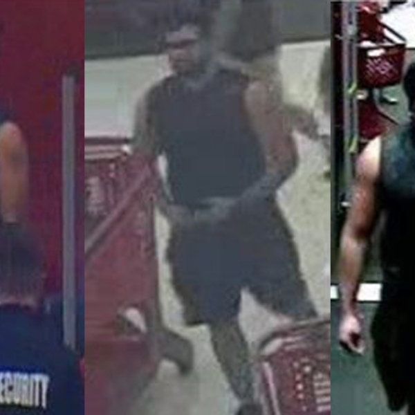 Redlands police released these surveillance images of the man.