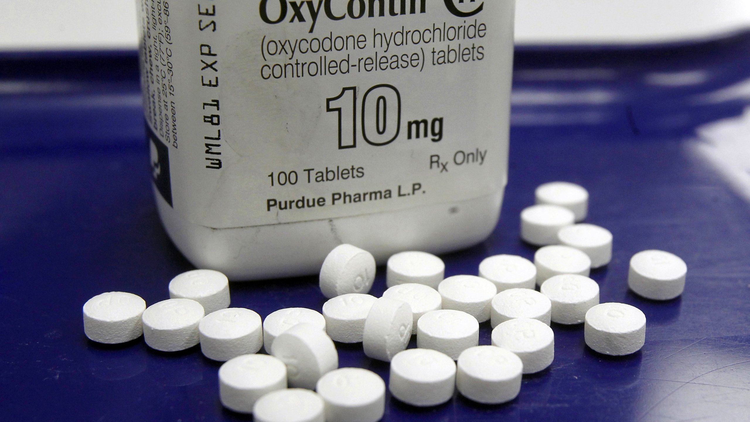 OxyContin pills are seen in this undated photo obtained by CNN.