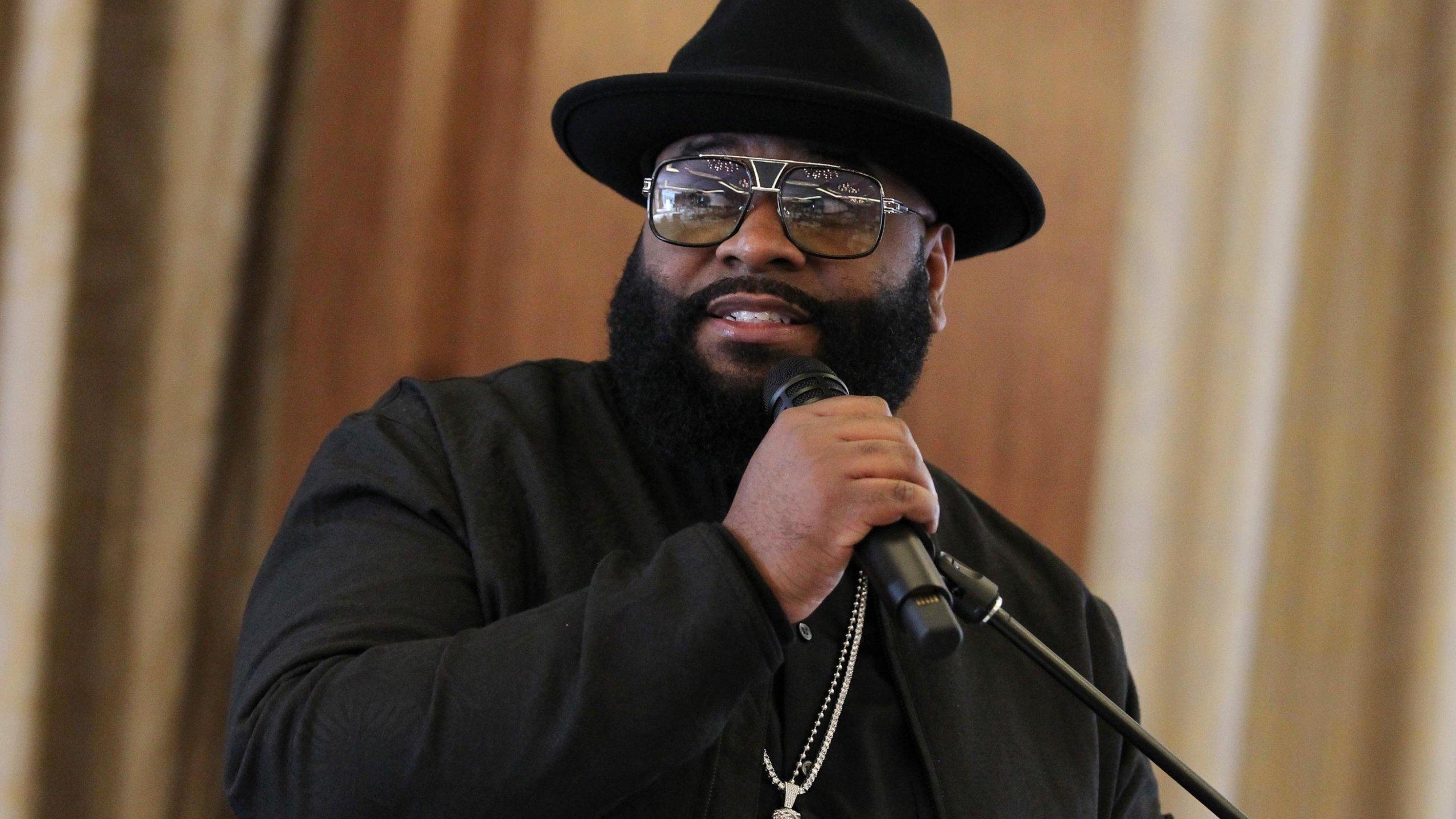 Musician LaShawnDaniels host the ninth annual ASCAP and Motown Gospel's Morning Glory Breakfast Reception in Las Vegas on March 24, 2018. (Credit: Leon Bennett / FilmMagic)