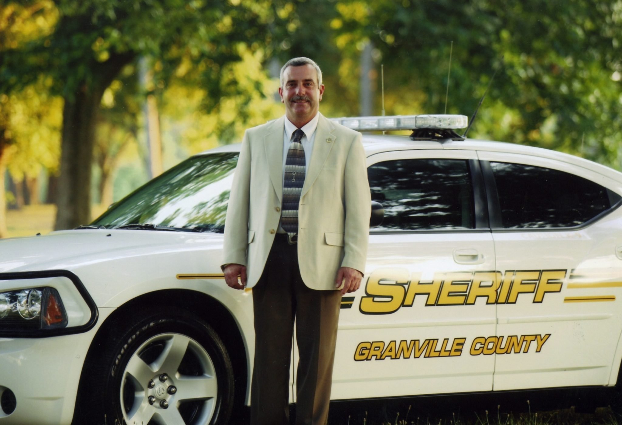 Granville County Attorney James Wrenn filed a petition Monday for Sheriff Brindell Wilkins to be suspended, and the sheriff and his counsel agreed to it, Wrenn's office said in a statement. (Credit: CNN)