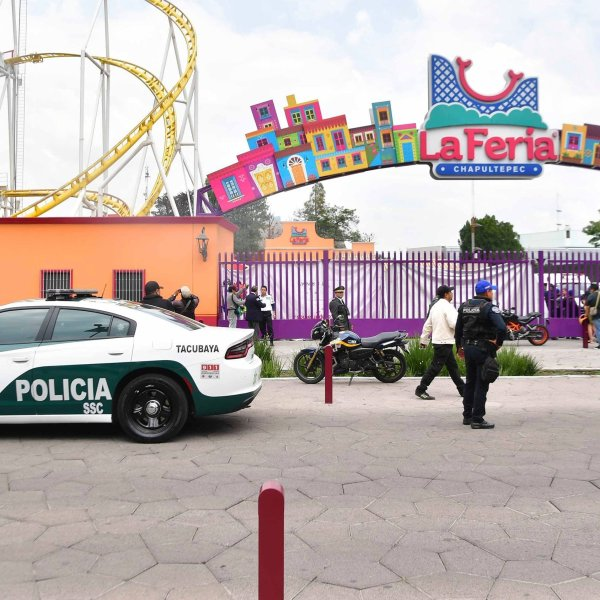The entrance to the Feria de Chapultepec in the Mexico City township of Miguel Hidalgo is seen on Sept. 28, 2019 in this photo obtained by CNN. (Credit: El Universal Agency/Hugo Garcia/EELG/AP)