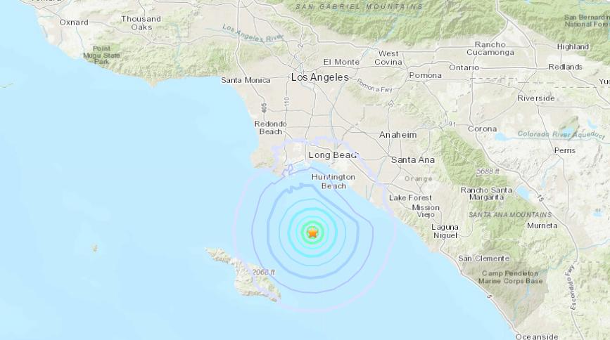 Magnitude 3 5 Earthquake Strikes Near