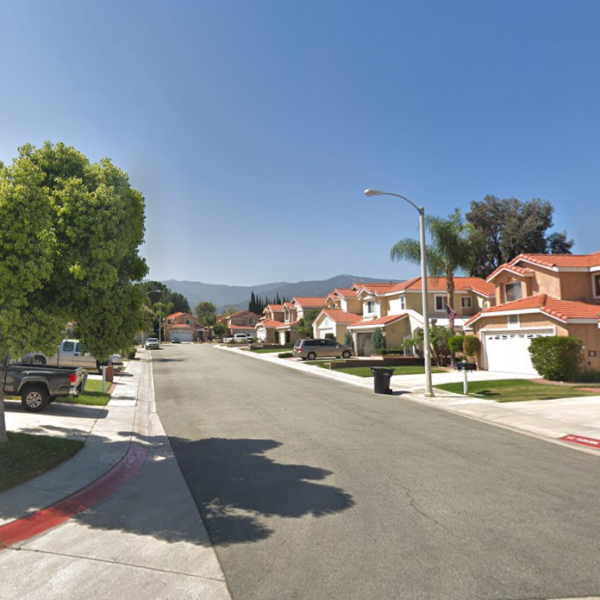 The 2000 Block of Picadilly Way is seen in a Google Maps Street View image on Sep. 22, 2019.