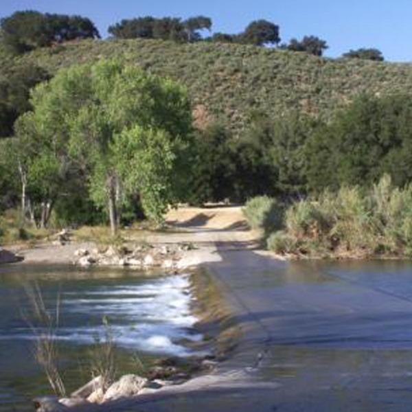 The Santa Ynez River is seen in an undated photo provided by the U.S. Department of Agriculture.