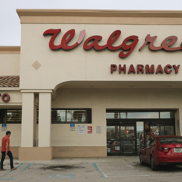 A Walgreens store is seen on August 07, 2019 in Miami, Florida. (Credit: Joe Raedle/Getty Images)