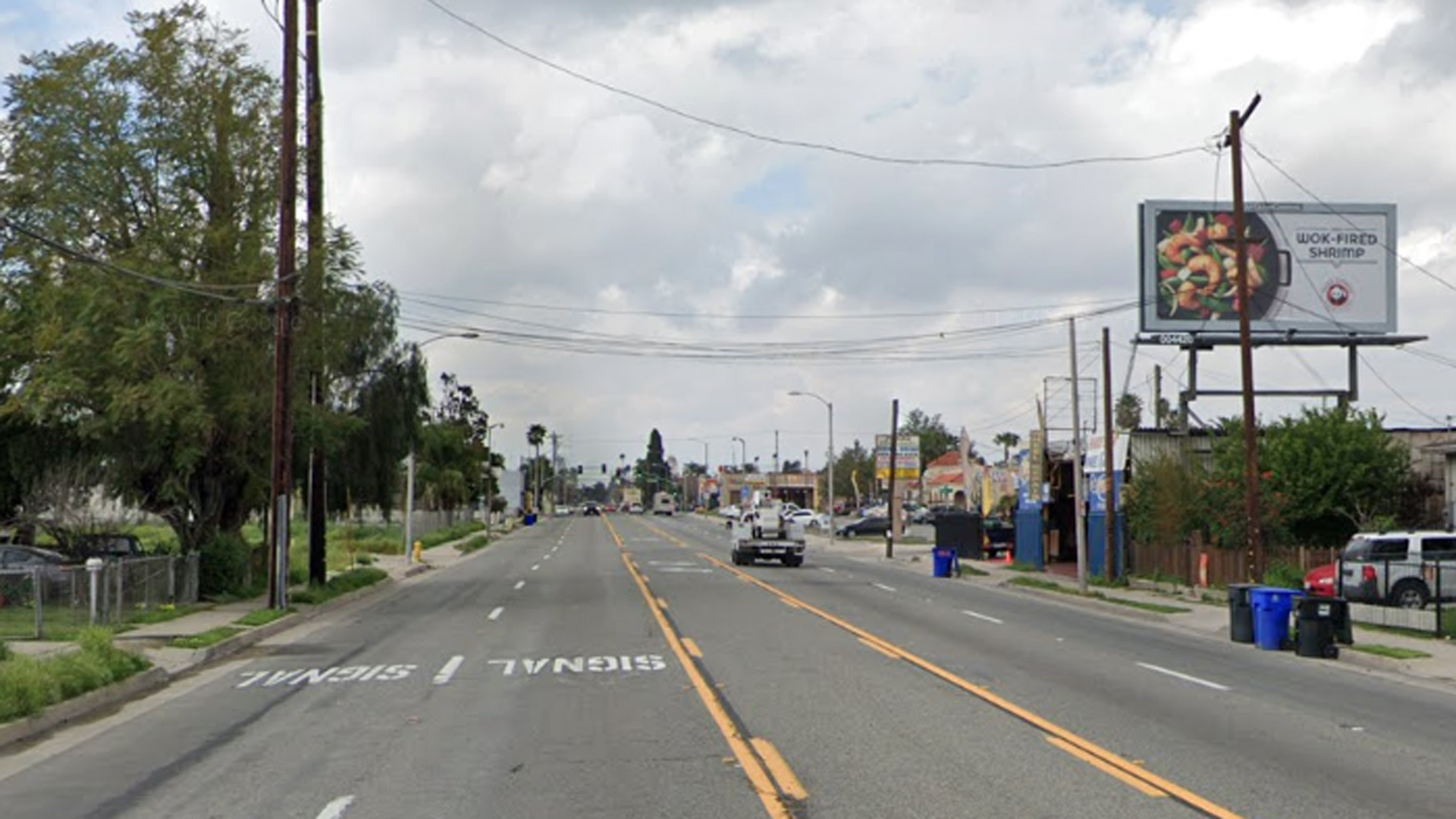 The 1100 block of Fifth Street in San Bernardino is seen in a Google Maps image.