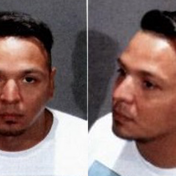 David Delgado appears in booking photos released by Hermosa Beach Police Department on Oct. 2, 2019.