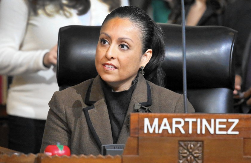Los Angeles City Councilwoman Nury Martinez is seen in an undated photo. (Al Seib / Los Angeles Times)