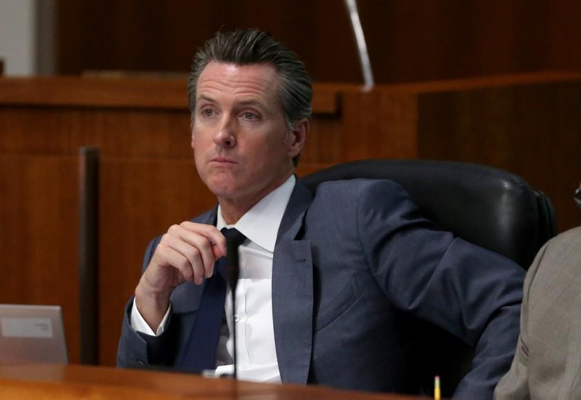 Gov. Gavin Newsom is seen in an undated photo. (Credit: Allen J. Schaben / Los Angeles Times)