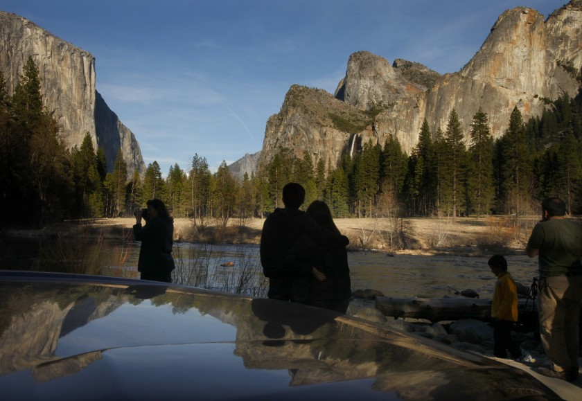 The valley floor at Yosemite National Park is seen in this undated photo. (Credit: Mark Boster / Los Angeles Times)