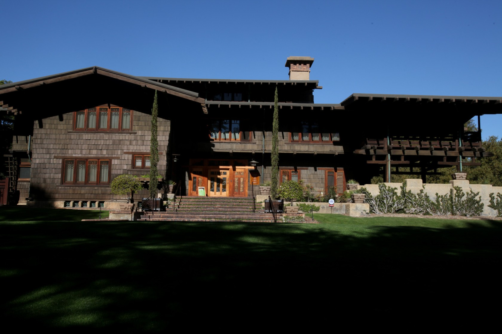 The Gamble House in Pasadena is seen in a 2016 file photo. (Credit: Francine Orr / Los Angeles Times)