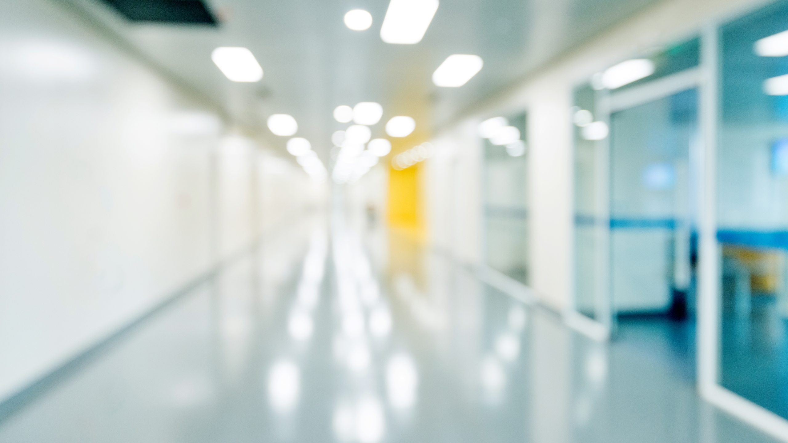 A hospital hallway appears in a file photo. (Credit: Getty Images)