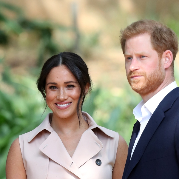 Prince Harry, Duke of Sussex and Meghan, Duchess of Sussex attend a reception on Oct. 2, 2019 in Johannesburg, South Africa. (Credit: Chris Jackson/Getty Images)