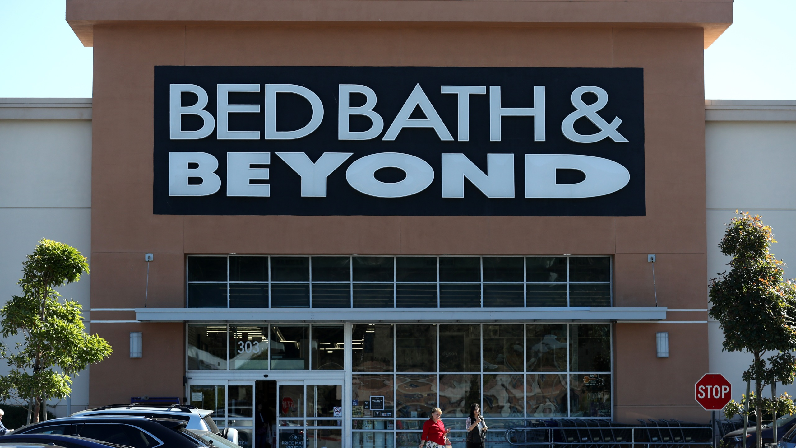 A Bed Bath & Beyond store is seen on Oct. 3, 2019 in Daly City. (Credit: Justin Sullivan/Getty Images)