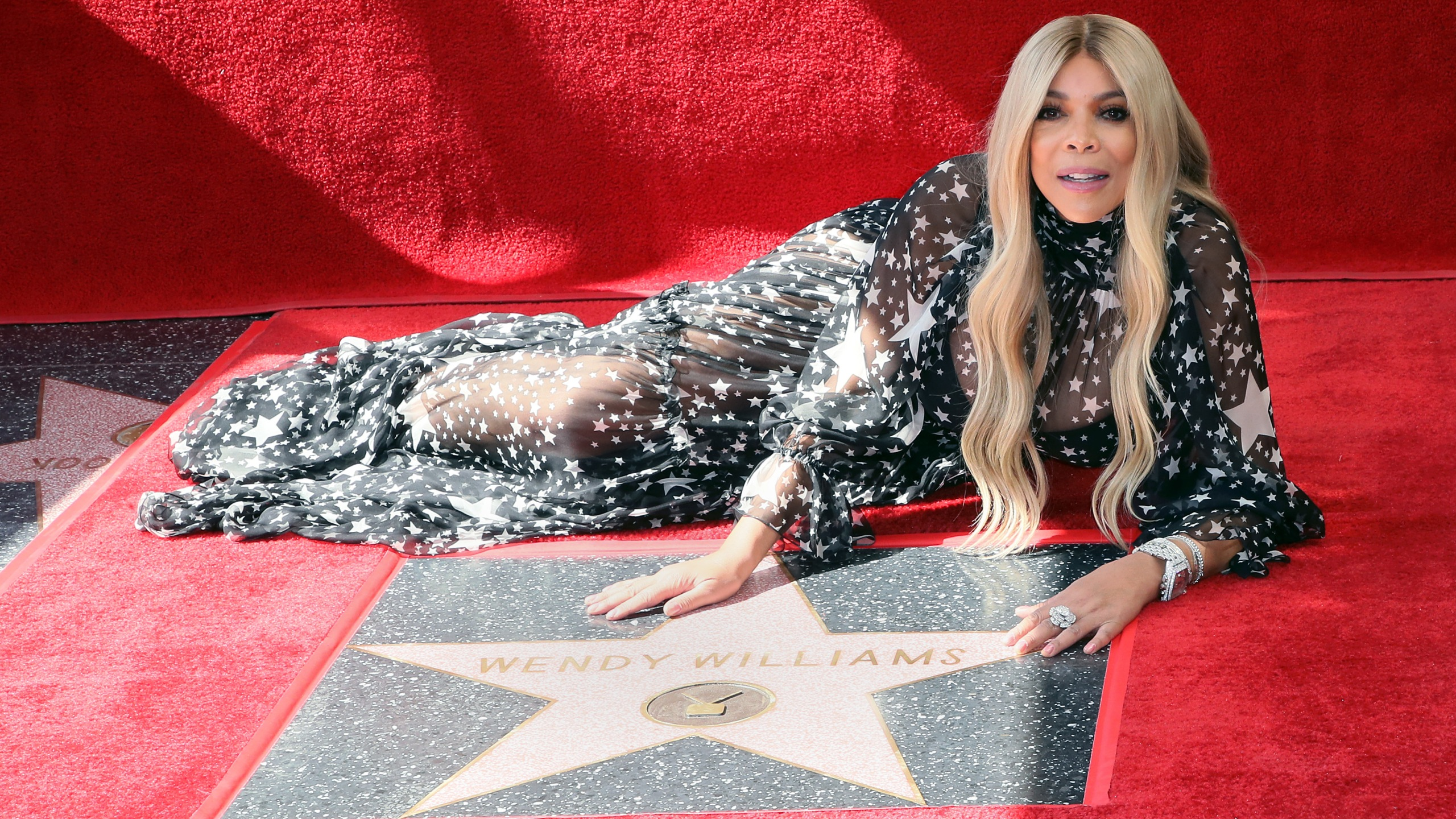 Wendy Williams is honored with a star on the Hollywood Walk of Fame on Oct. 17, 2019. (Credit: David Livingston / Getty Images)