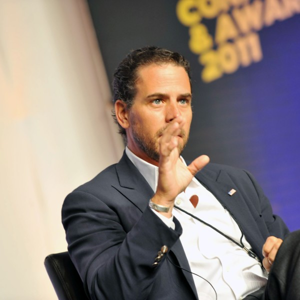 Hunter Biden attends Usher's New Look Foundation - World Leadership Conference & Awards 2011 - Day 3 at Cobb Energy Center on July 22, 2011 in Atlanta, Georgia. (Credit: Moses Robinson/Getty Images for Usher's New Look Foundation)