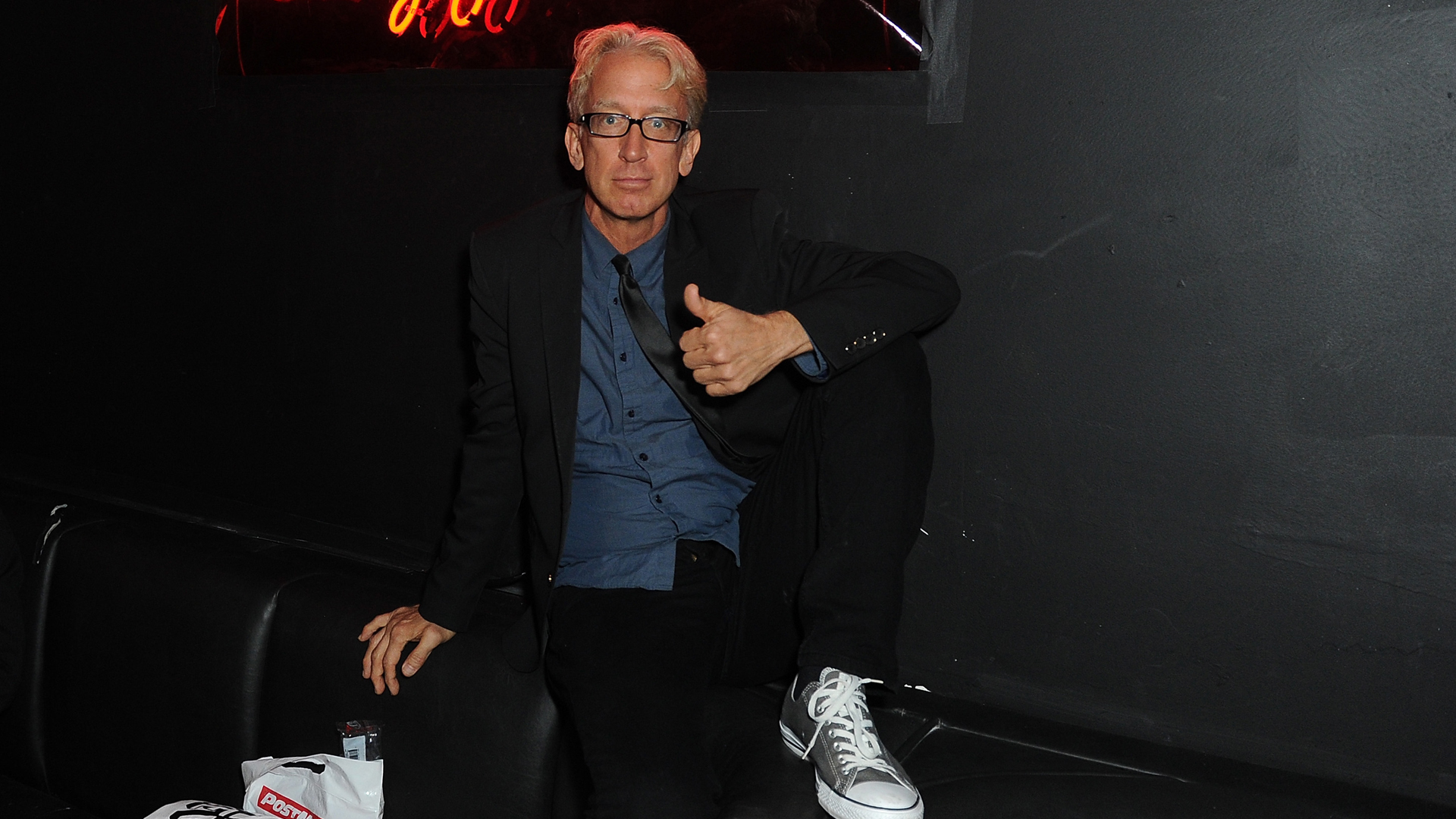 "Andy Dick attends the official wrap party for ""The Head Thieves"" at The Golden Box in Hollywood on Feb. 15, 2015. (Credit: Joshua Blanchard/Getty Images)"