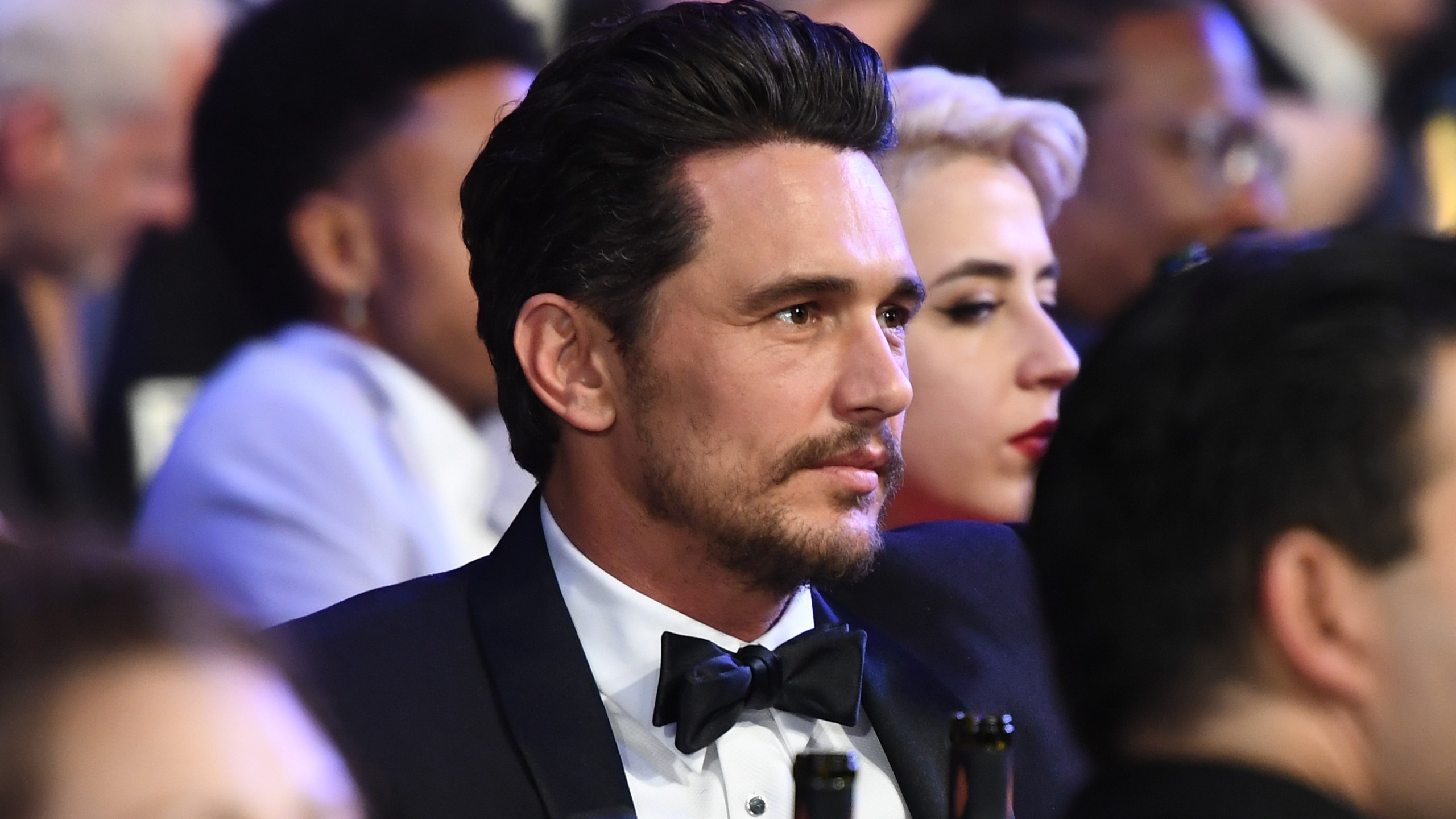Actor James Franco attends the 24th-annual Screen Actors Guild Awards at The Shrine Auditorium in Los Angeles on Jan. 21, 2018. (Credit: Dimitrios Kambouris / Getty Images for Turner)