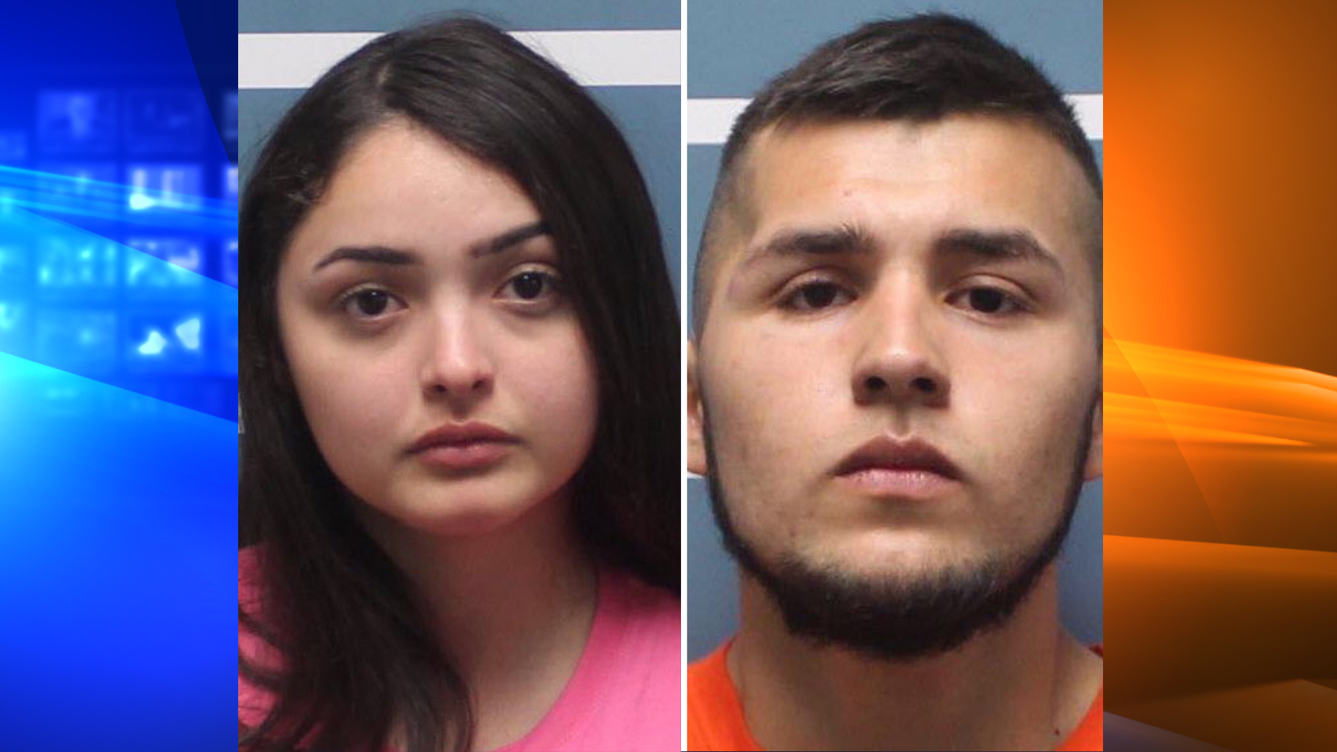 Vanessa Macias, 19, and Jesus Fernandez, 18, are seen in undated photos provided by the Tulare County Sheriff's Office on Oct. 19, 2019.