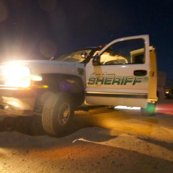 A Kern County sheriff's vehicle unconnected to the incident is seen in a photo posted to the office's Facebook page on Oct. 14, 2019.