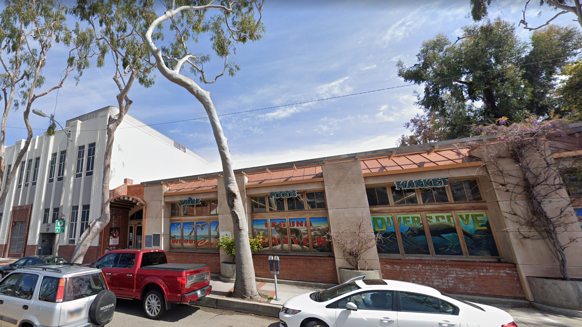 The only Whole Foods store in Laguna Beach appears in an image from Google Maps.