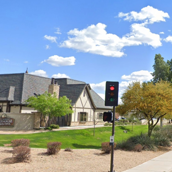 The Little Sunshine's Playhouse & Preschool in Gilbert, Ariz. appears in an image from Google Maps.