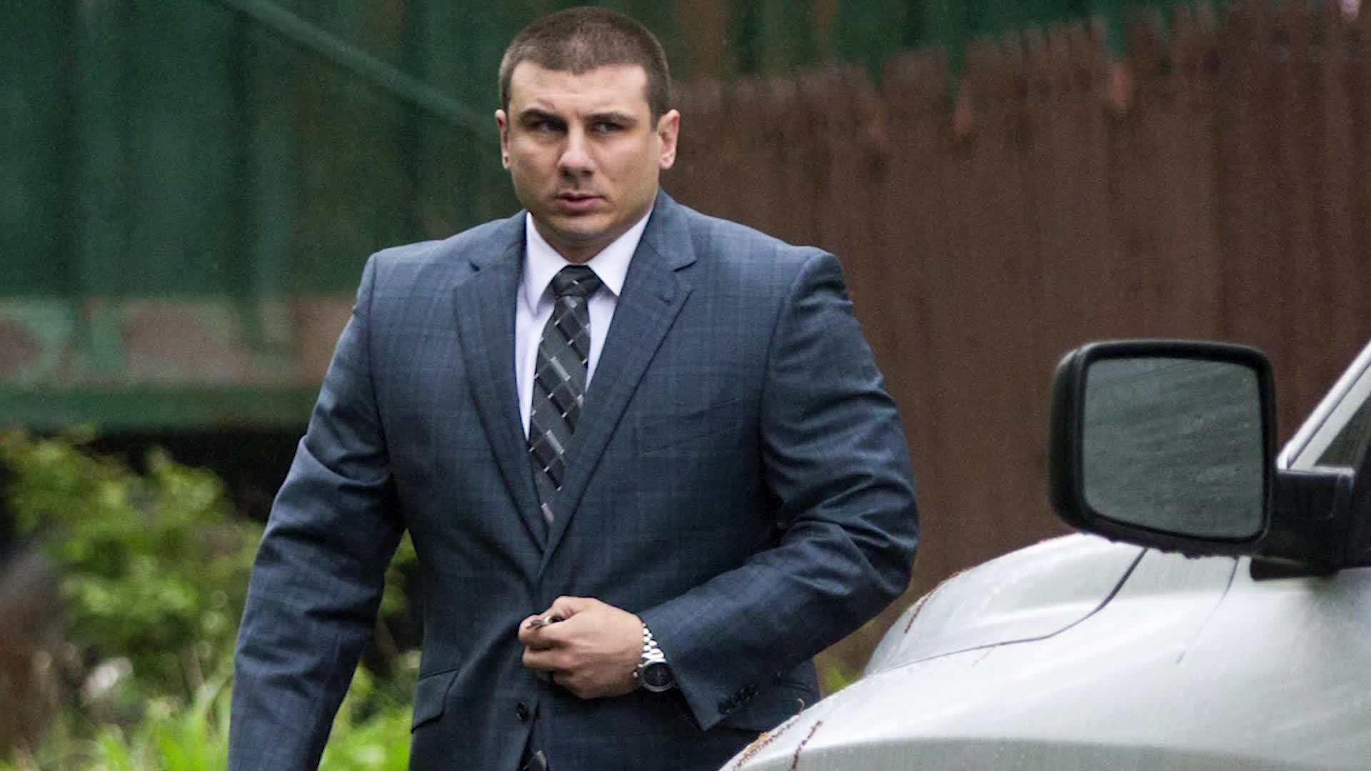Former NYPD Officer Daniel Pantaleo. (Credit: Associated Press via CNN Wire)