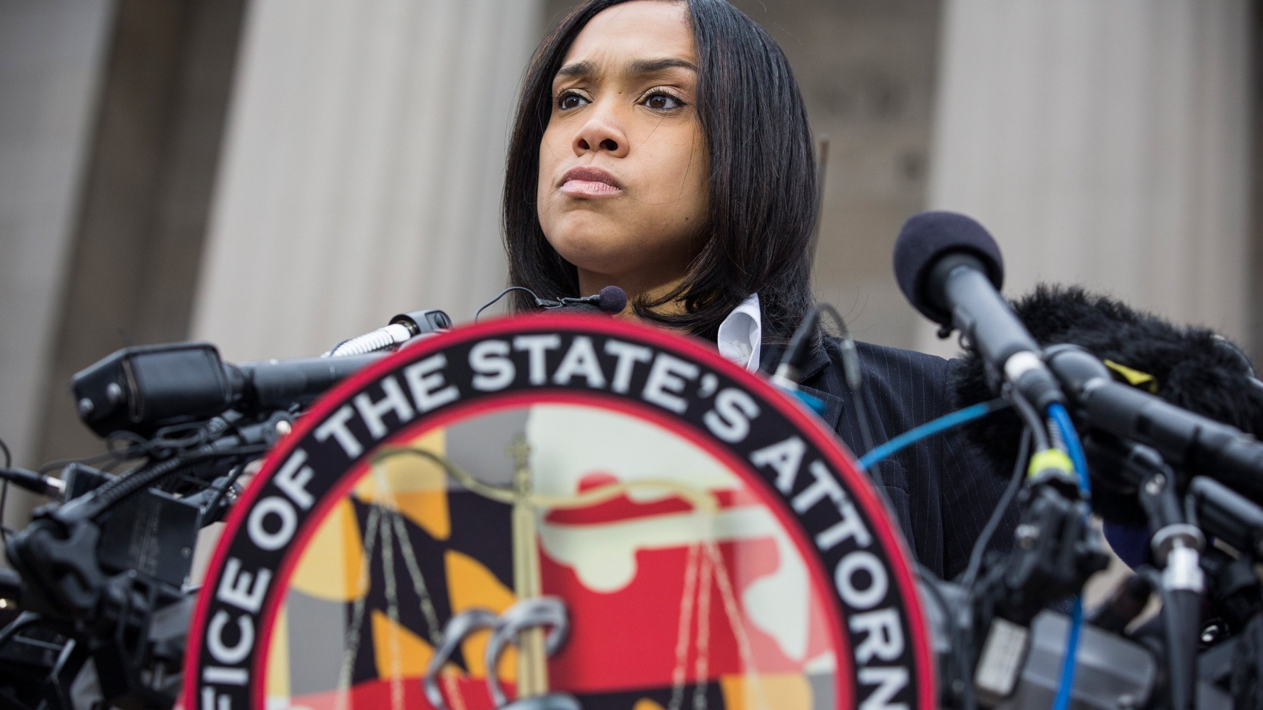 Nearly 800 criminal cases involving 25 police officers suspected of corruption are set to be thrown out in Baltimore, according to the city's chief prosecutor. (Credit: CNN)