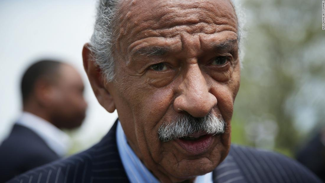 Former Rep. John Conyers, a longtime Michigan Democrat, appears in an undated photo. (Credit: Alex Wong/Getty Images via CNN)
