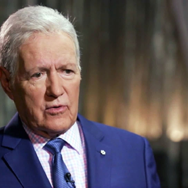 """After months of undergoing treatment for pancreatic cancer, Alex Trebek hinted in an interview that his long tenure as host of """"Jeopardy!"""" may be nearing an end. (Credit: CTV News)"""