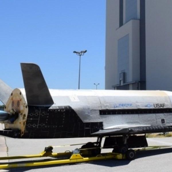 The U.S. Air Force's X-37B is seen in this file image. (Credit: U.S. Air Force)