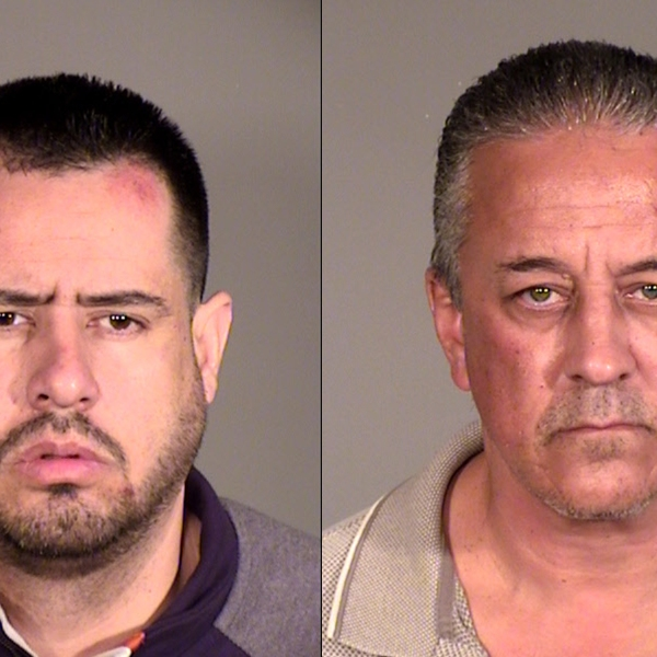 Arleta Men arrested on suspicion of selling meth on Nov. 22, 2019. (Credit: Ventura County Sheriff's Office)