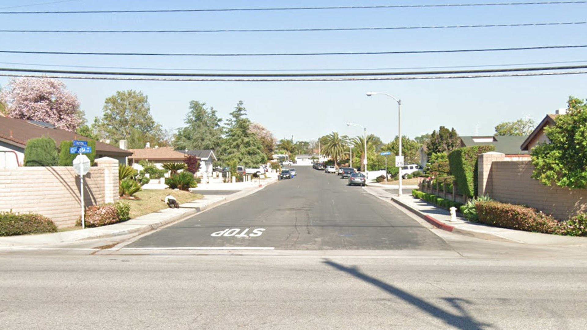 The 100 block of East Payson Street in Azusa, as pictured in a Google Street View image.