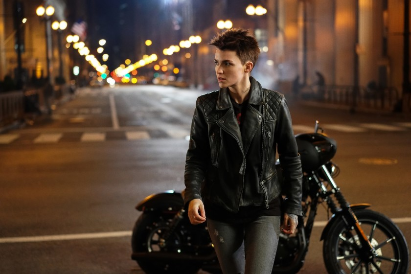 "Ruby Rose as Kate Kane/Batwoman in a scene from the CW series Batwoman."" (Credit: The CW via Los Angeles Times)"