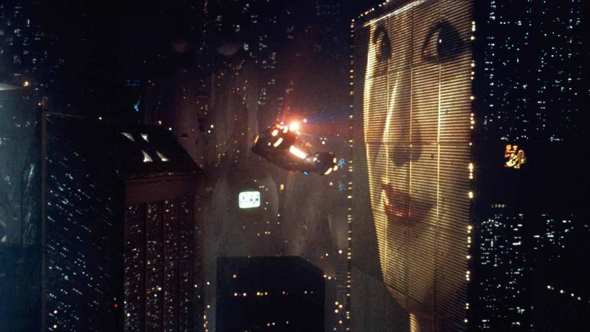 "A scene from the 1982 film ""Blade Runner."" (Credit: Warner Bros.)"