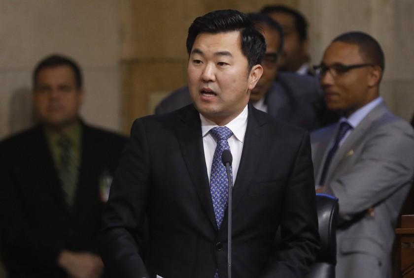 Los Angeles City Councilman David Ryu is seen in an undated photo. (Credit: Genaro Molina / Los Angeles Times)