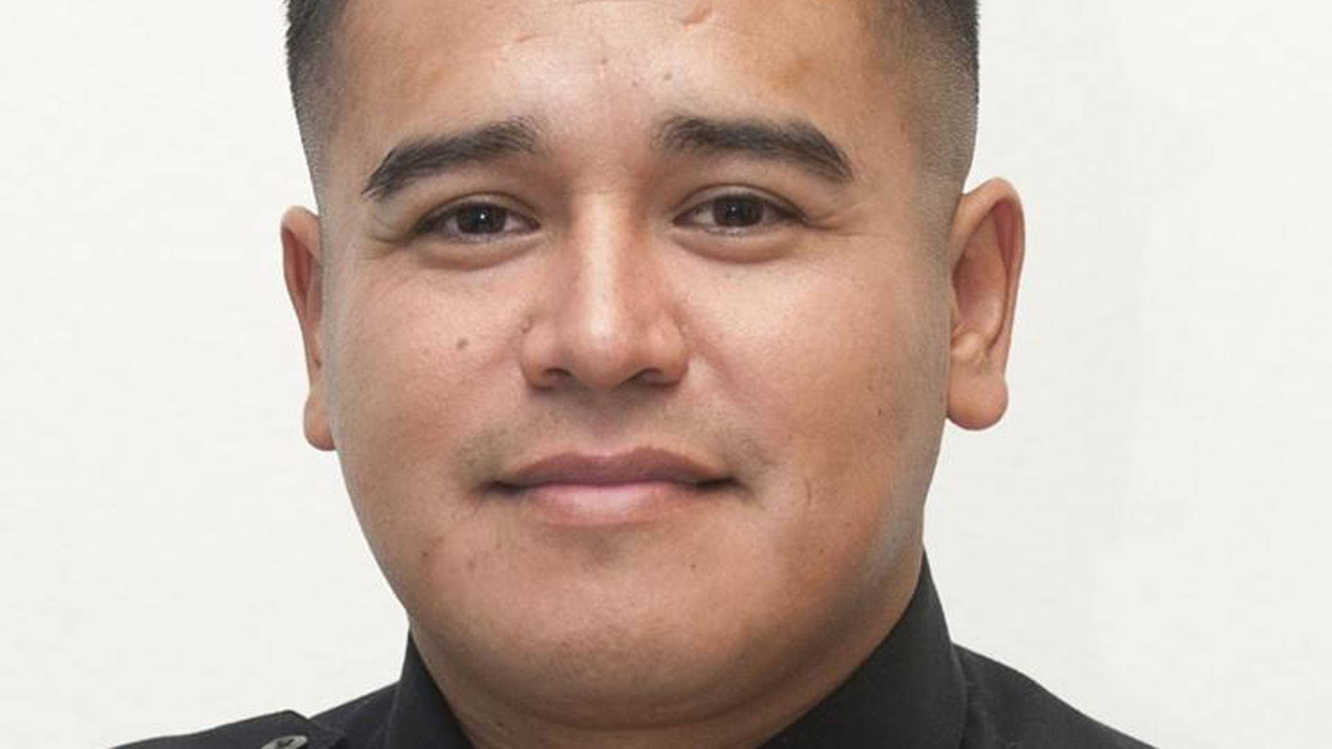 Lemoore police Officer Jonathan Diaz is seen in a photo tweeted by the Los Angeles County Sheriff's Department on Nov. 4, 2019.
