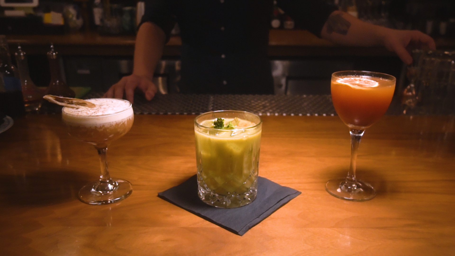 Delicious, Chunky Sips: We Tried Cocktails Made with Fat