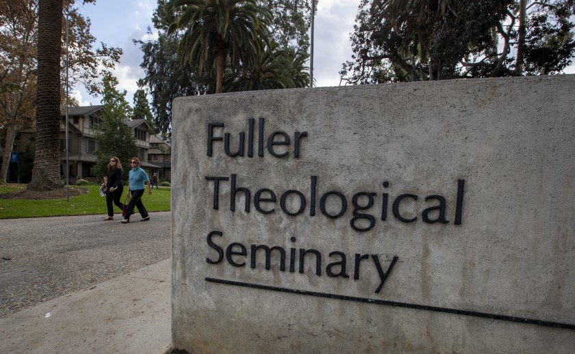 The Pasadena campus of Fuller Theological Seminary is shown in this undated photo. (Credit: Brian van der Brug / Los Angeles Times)