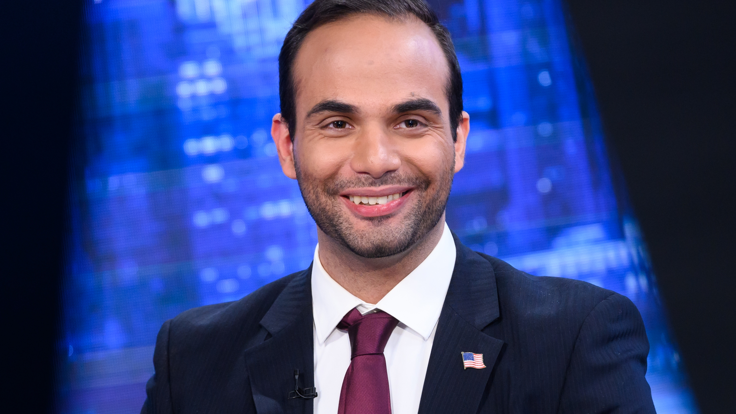 "George Papadopoulos visits ""The Story With Martha MacCallum"" at Fox News Studios on March 26, 2019 in New York City. (Credit: Noam Galai/Getty Images)"