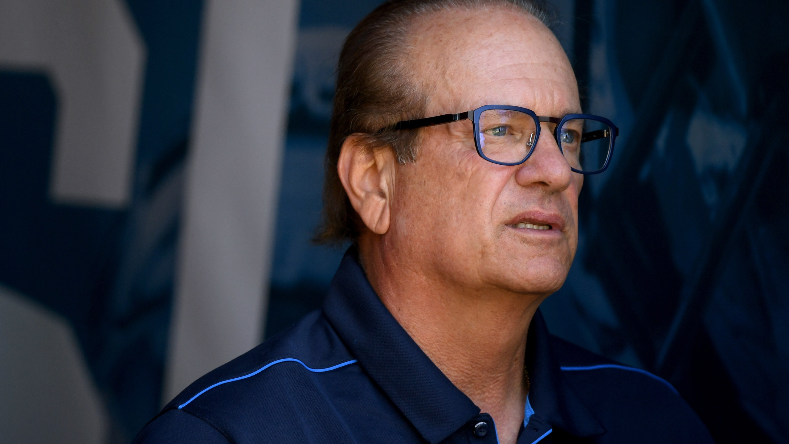 Los Angeles Chargers owner Dean Spanos before the game against the Denver Broncos at Dignity Health Sports Park on Oct. 6, 2019, in Carson, Calif. (Credit: Harry How/Getty Images)